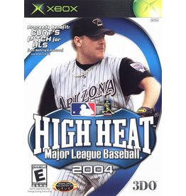 Microsoft Xbox High Heat Baseball 2004