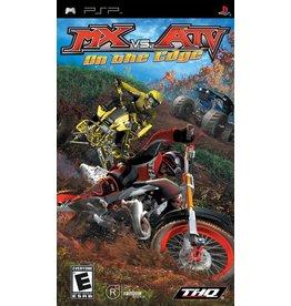 Sony Playstation Portable (PSP) MX vs. ATV Unleashed On the Edge