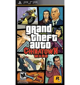 Playstation PSP Grand Theft Auto: Chinatown Wars GTA