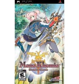 Playstation PSP Mana Khemia Student Alliance