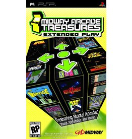 Playstation PSP Midway Arcade Treasures Extended Play