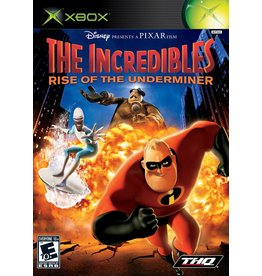 Microsoft Xbox The Incredibles Rise of the Underminer