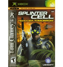 Microsoft Xbox Tom Clancy's Splinter Cell Pandora Tomorrow