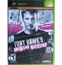 Xbox Tony Hawk American Wasteland