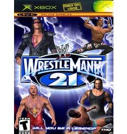 Microsoft Xbox WWE Wrestlemania 21