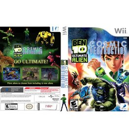 Nintendo Wii Ben 10: Ultimate Alien Cosmic Destruction
