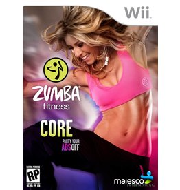 Nintendo Wii Zumba Fitness Core