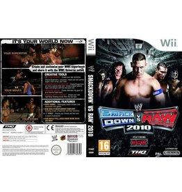 Nintendo Wii WWE SmackDown vs. Raw 2010