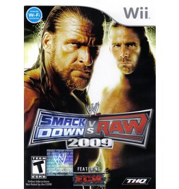 Nintendo Wii WWE SmackDown vs. Raw 2009