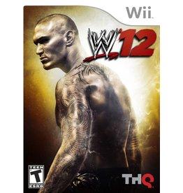 Nintendo Wii WWE '12
