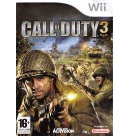 Nintendo Wii Call of Duty 3