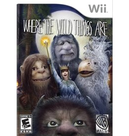 Nintendo Wii Where the Wild Things Are