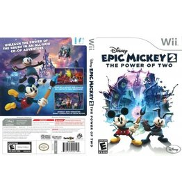 Nintendo Wii Epic Mickey 2: The Power of Two
