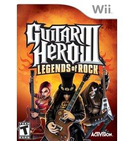 Nintendo Wii Guitar Hero III: Legends of Rock