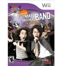 Nintendo Wii The Naked Brothers Band