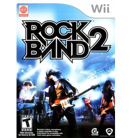 Nintendo Wii Rock Band 2 (game only)