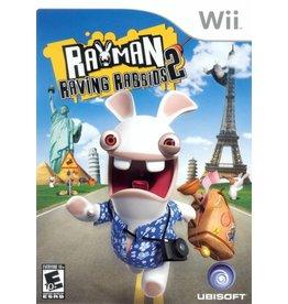 Nintendo Wii Rayman Raving Rabbids 2