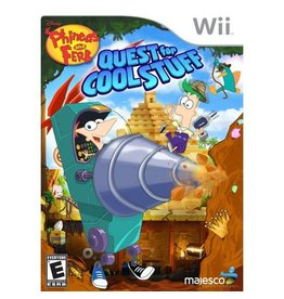 Nintendo Wii Phineas and Ferb: Quest For Cool Stuff