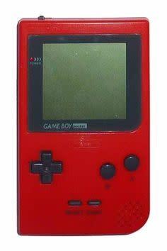 Gameboy Gameboy Pocket Console