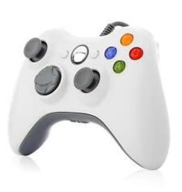 Xbox 360 360 3rd Party Wired Controller (White)