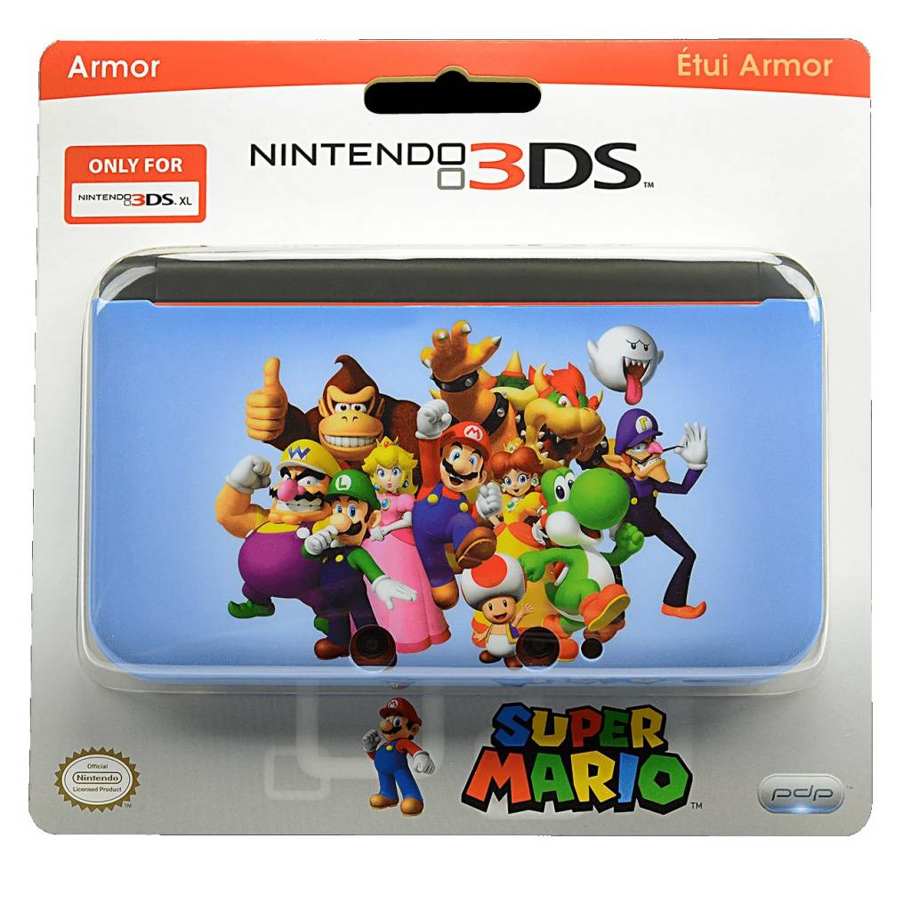 Nintendo 3DS 3DS XL Super Mario Armor Case