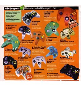 Nintendo 64 N64 3rd-Party Controller (Used)