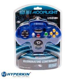 """Nintendo 64 (N64) N64 USB """"Moonlight"""" Tomee Controller"""
