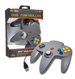 Nintendo 64 N64 USB Controller (Gray)