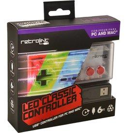 Nintendo NES NES USB Retrolink LED Classic Controller