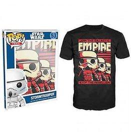 Generic POP T-shirt - Star Wars - Stormtrooper Emp - XLarge