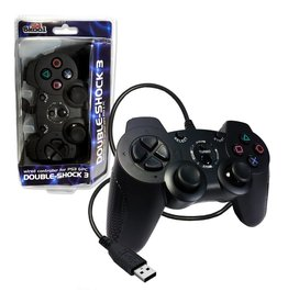 Playstation 3 PS3 Wired Controller Old Skool Double-Shock