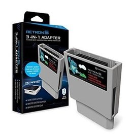 Generic Retron 5 3 in 1 Adapter (game gear, master system, card)