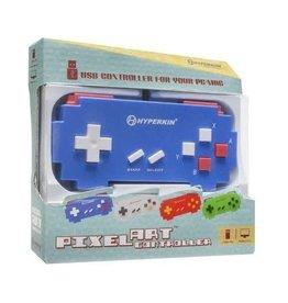 Nintendo SNES SNES Pixel Art USB Controller Blue