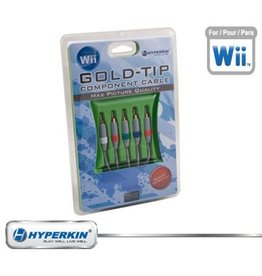 Nintendo Wii Wii Component Cable Gold-Tip