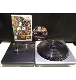 Nintendo Wii Wii DJ Hero Turntable Bundle (Used)