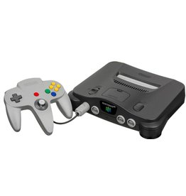 Nintendo 64 N64 Console Grey