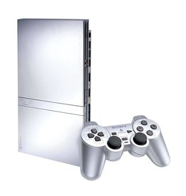 Playstation 2 PS2 Slim Console Silver