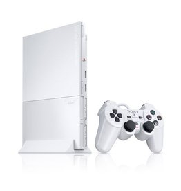 Playstation 2 PS2 Slim Console White