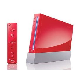 Nintendo Wii Wii Console - Red