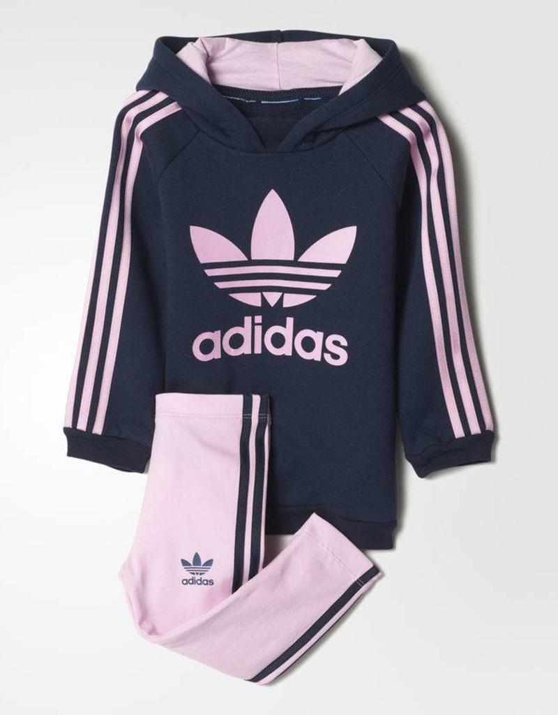 Adidas Adidas Infants Hoodie Legging Set (BQ4432)