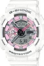 g-shock G Shock EOL Sseries Light Pink Anadigital GMAS110MP-7A