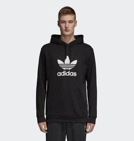 Adidas Adidas Mens Trefoil Hoodie Black (DT7964)