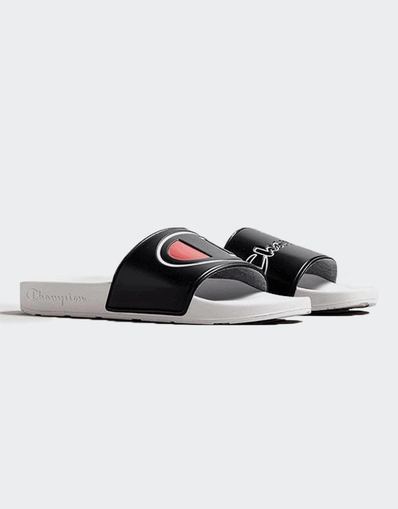 Champion Champion IPO Mismatch Slides Black/White (CM100065M)