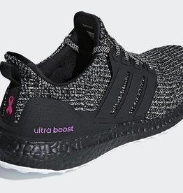 """Adidas Adidas UltraBOOST - """"Cancer Breast Awareness""""   BC0247 CLOWHI/CBLACK/SHOPNK (BC0247)"""