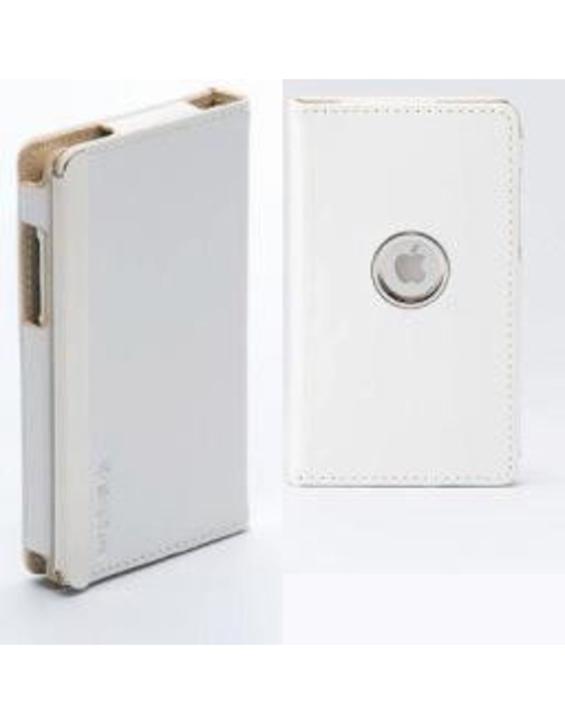 Simplism Leather Collection Flip Style for iPod Touch (2nd Gen) SNOW WHITE