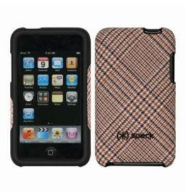 Speck Products Speck iPod Touch 2G Fitted - Tan Houndstooth Plaid