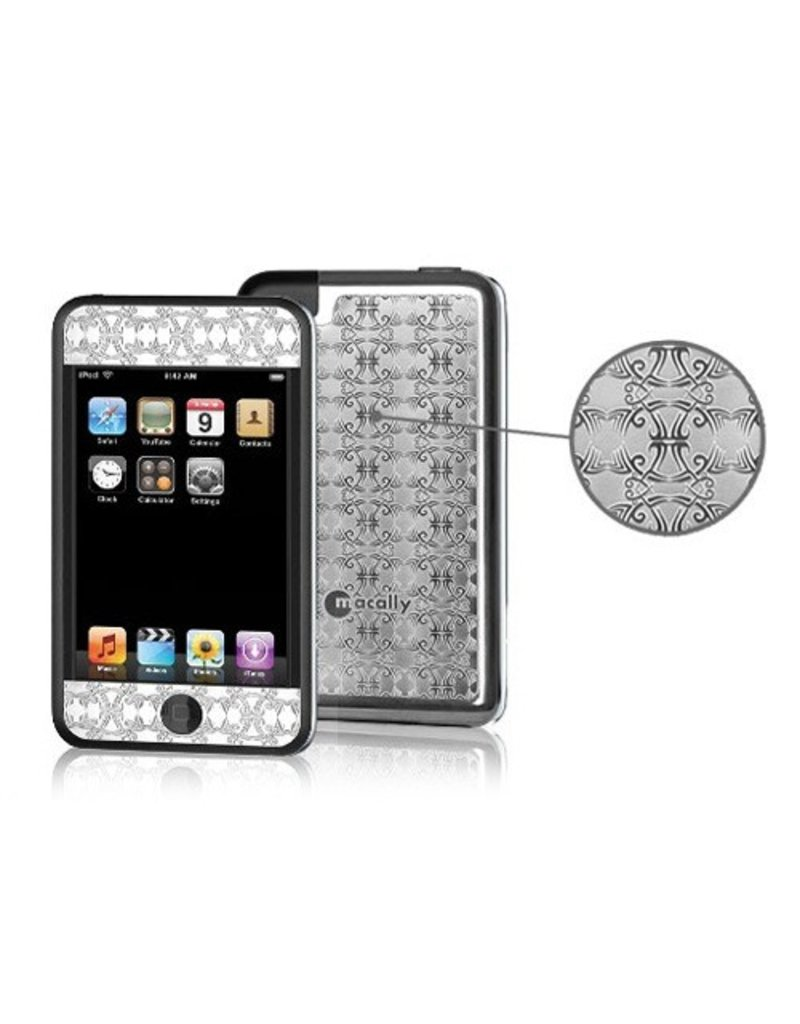MacAlly Decorative Stainless Steel Overlay for iPod iTouch