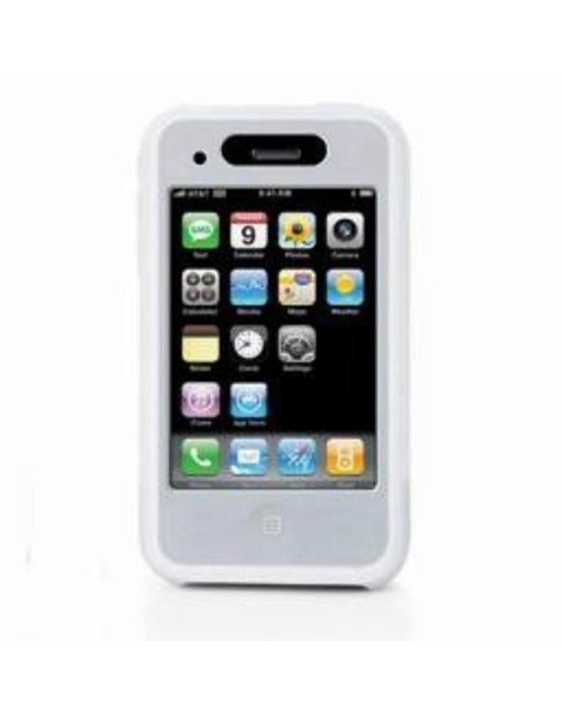 iLuv Silicone Case for iPhone 3G-White