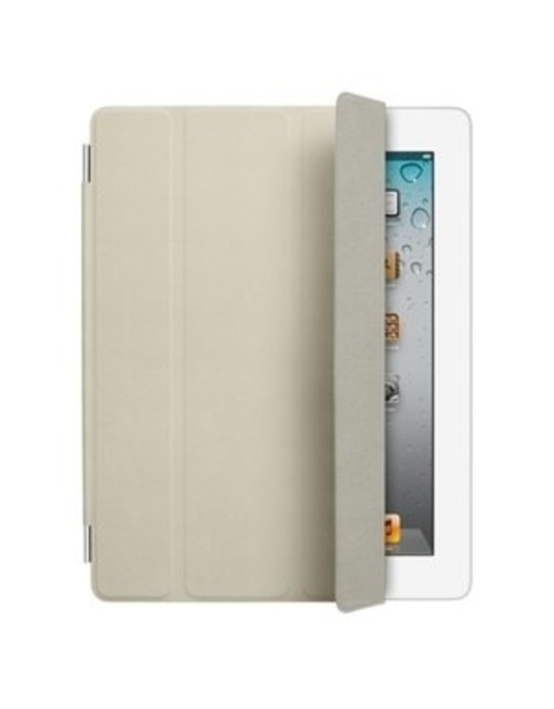 Apple Apple iPad 2 Smart Cover - Leather - Cream MD305LL/A