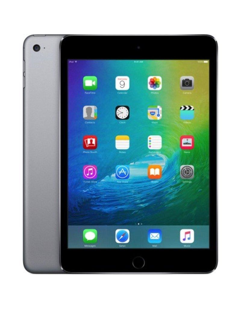 Apple Apple iPad mini 4 Wi-Fi + Cellular 128GB - Space Gray (Apple SIM) MK8D2LL/A